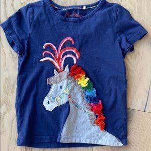 Mini Boden horse shirt